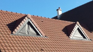 creation lucarne de toit (après)